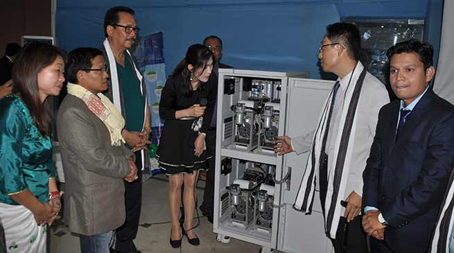 Chowna Mein launches Medical Oxygen Supply Systemat Waii International Hotel