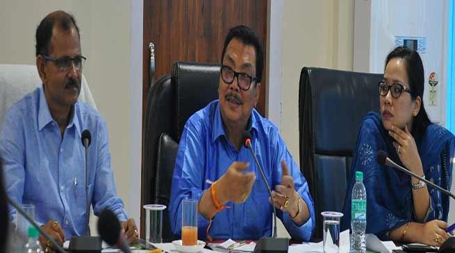 "Namsai; Chowna Mein reviews flagship programmes under ""Sankalp se Siddhi Tak"""