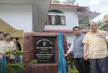 Photo of CM Khandu inaugurates Forest Rest House at Itanagar Biological Park
