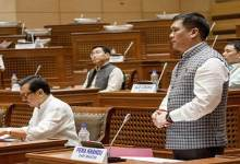 Photo of APLA Session 2nd day: CM Khandu laid 5 papers on the Table