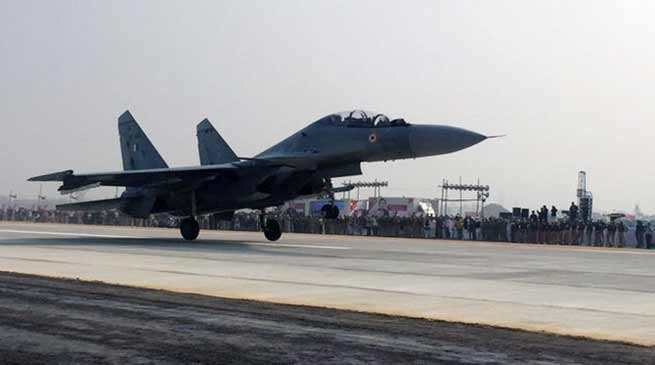 When Fighter Jets touchdown Lucknow-Agra Expressway