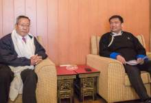 Photo of Pema Khandu meets with NEC Secretary, Ram Muivah