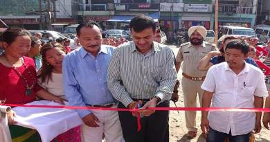 Prince Dhawan inaugurates Vending Zone at Naharlagun a