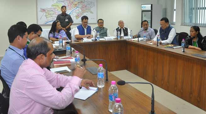 Arunachal: Kiren Rijiju Reviews Status of Centrally Sponsored Scheme