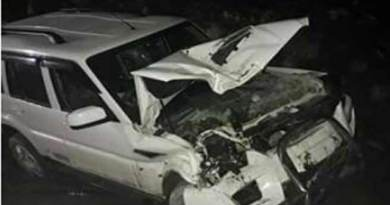 State witness 2 Road Accidents, 1 dies on spot in West kameng district