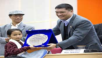 Make Arunachal Open Defecation Free byDecember 31, 20017- Pema Khandu