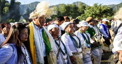 Pema Khandu  attends  the 'Basar Confluence'