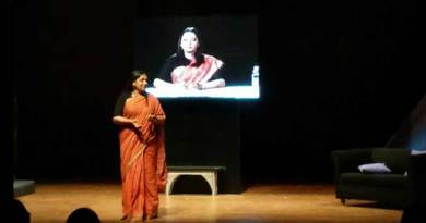 G Plus Guwahati Theatre Festival 2017- Sabana Azmi perform Broken Images