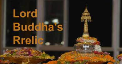Namsai- Holy Relics of Lord Buddha installed in Golden Pagoda