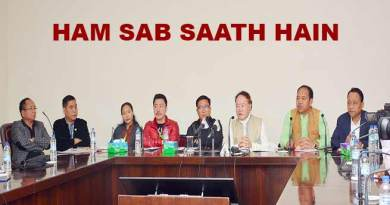 Nyishi MLAs pledge their support to Khandu Government