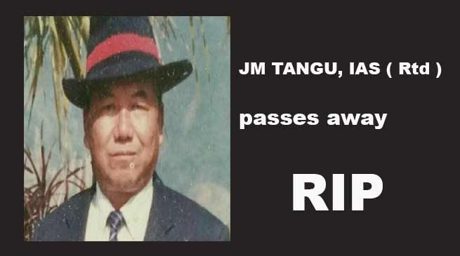 Former Administrator J M Tangu Passes away, CM, DCM, others expresses shock