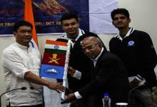 Pema Khandu flagged-in Mt Trishul Expedition Team