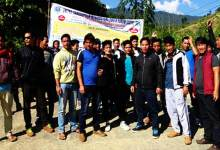 Itanagar-Jote road issue-USIYF begins movement