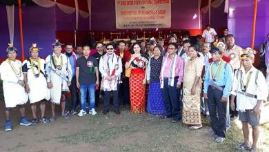Photo of Taram inaugurates cultural cum food festival of Arunachal and Assam