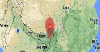 Arunachal- 6.9 magnitude earthquake near Along