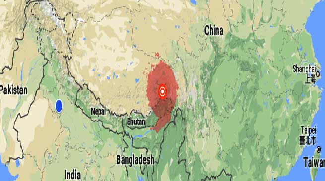 Arunachal- 6.9 magnitude earthquake near Along