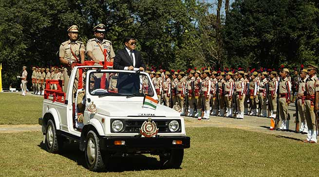 Arunachal Pradesh Police celebrates its 45th Raising Day