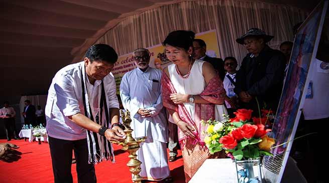 Khandu declares open the celebration of '40 glorious years of VKVs in Arunachal'