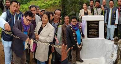 Markio Tado inaugurates Jhome-Kopin-Roing link road