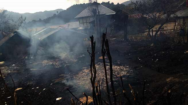 Khandu orders for immediate relief to Ziro fire victims