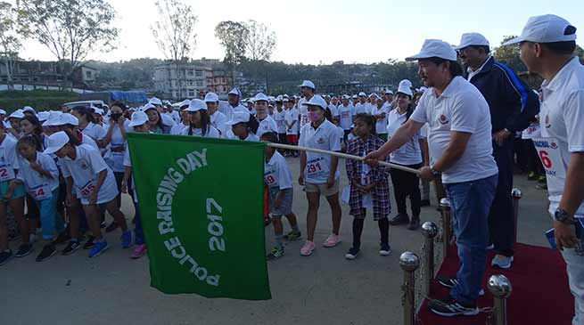 "Arunachal Police organises Run for "" Crime Free Arunachal"""