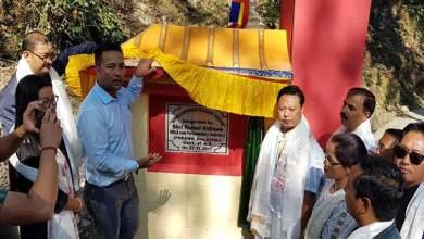 Photo of Kumsi Sidisow inaugurates 'Boudh Vihar' at Bhalukpong