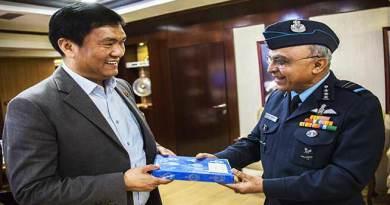 Air Marshal Anil Khosla Calls on Arunachal CM Pema Khandu