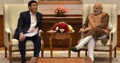 Arunachal CM Pema Khandu meets PM Narendra Modi