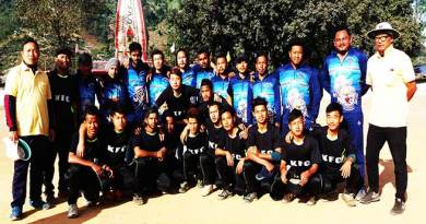 Arunachal: Lokup Yangfo memorial T-20 cricket, Final between HCC and SUCC