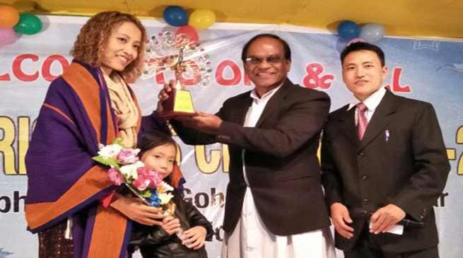 Mrs Planet-2017, Doyu Meena Mudang given warm welcome