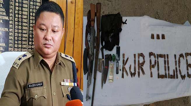 Kokrakhar- Assam police shot dead a NDFB(S) Platoon Commander