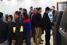 Arunachal- Banks are running short of cash in Itanagar