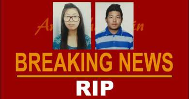 Two Arunachali Students dies in a road accident in Dehradun