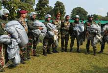 77 Mountain Brigade of Indian Army celebrates Platinum Jubilee