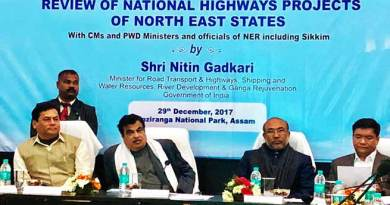 CM Khandu attends review meeting of NH Projects of Northeast