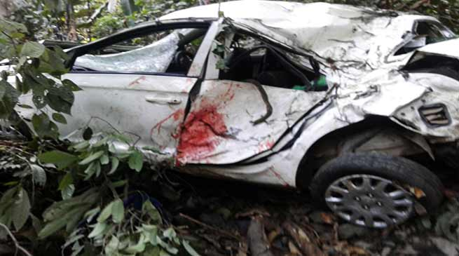 Itanagar- 2 dead and 3 injured in Road accident