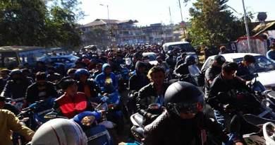 Video: Capital Police foiled the NESA Rally in Itanagar