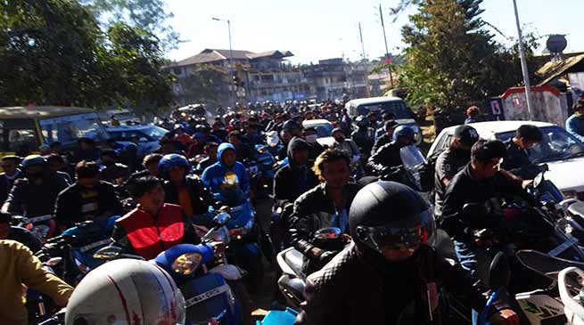 Video: Capital Police foiled the NESA Rally in Itanagar