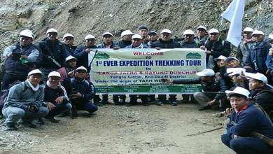 Photo of Tarh Tarak flagged off  Expedition team to Langatata & Rayung Dumchop
