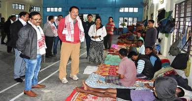 Arunachal: Chowna Mein visits drug de-addiction camp at Mahadevpur
