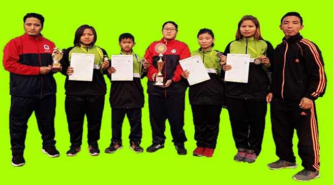 Arunachal Karate team wins 5 Medals