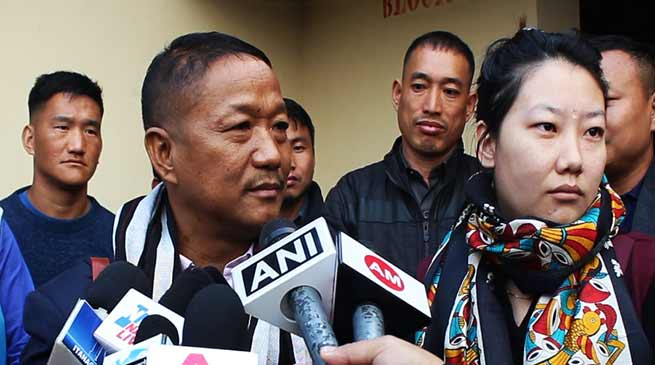 Itanagar:  I am fit and fine to serve the state-Bamang Felix