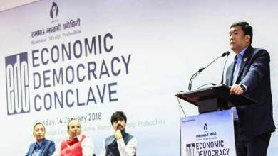 Economic Democracy is far cry in Northeast despite having huge potential- Pema Khandu
