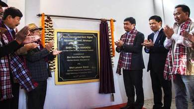 Photo of Arunachal: Khandu inaugurates school building in Jairampur