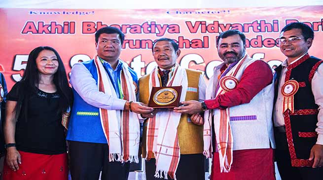 Pema Khandu lauds contribution of ABVP in nation building