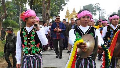 Photo of Arunachal: Chowna Mein attends  Mai Ko Som Fai festival celebrated at Golden Pagoda