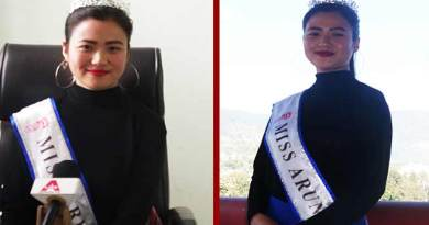 Itanagar: Miss Arunachal Osin Mosu will represent India in IIGF