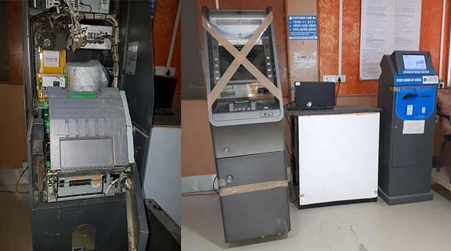 Arunachal: Robbers Vandalise 2 SBI ATM at Itanagar
