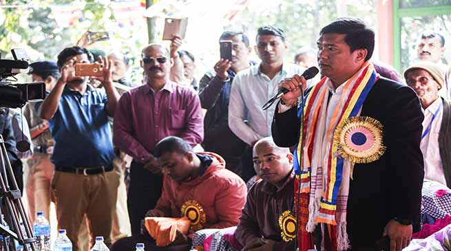 Senior monk made lot of contribution for Buddhist religion- Pema Khandu