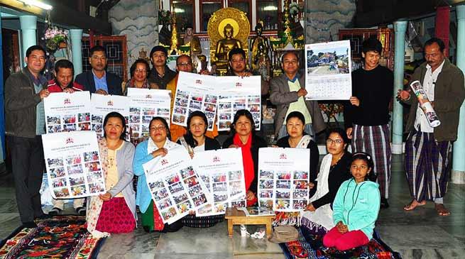Itanagar: Tai Khampti - English calendar released